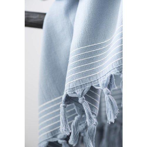 Walra Hamamdoek - Soft Cotton - Blauw