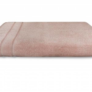 The One Towelling  Baddoek - Zero Twist - Zalm roze
