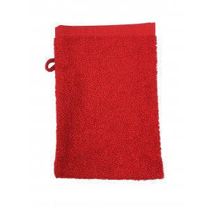 The One Towelling  Washandje - Classic - Rood