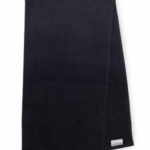 The One Towelling  Handdoek - Sport - Zwart