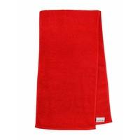 Handdoek - Sport - Rood