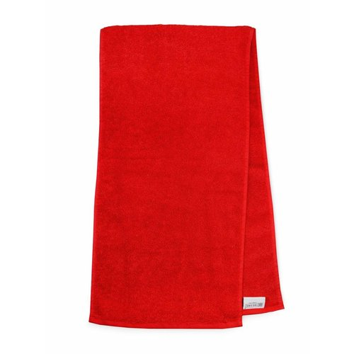The One Towelling  Handdoek - Sport - Rood