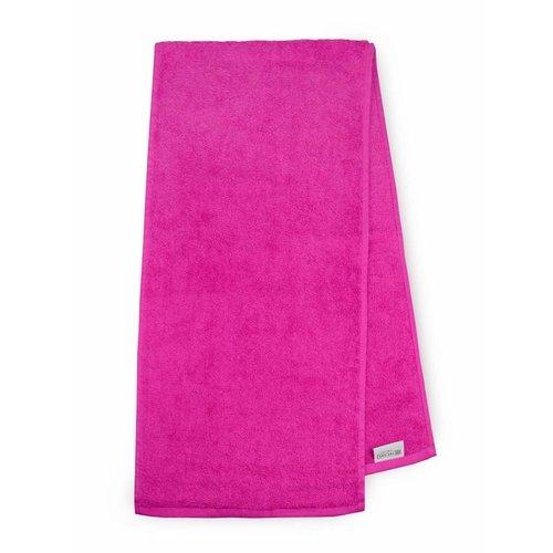 The One Towelling  Handdoek - Sport - Magenta