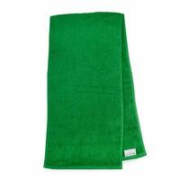 Handdoek - Sport - Groen