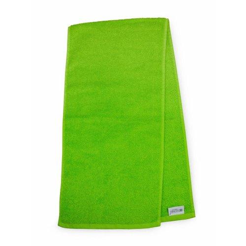 The One Towelling  Handdoek - Sport - Lime groen
