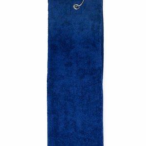 The One Towelling  Handdoek - Golf - Navy blauw