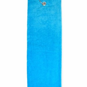 The One Towelling  Handdoek - Golf - Turquoise