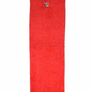 The One Towelling  Handdoek - Golf - Rood