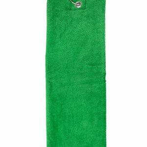 The One Towelling  Handdoek - Golf - Groen