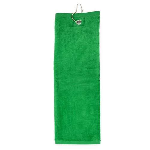 The One Towelling  Golf Handdoek - Groen