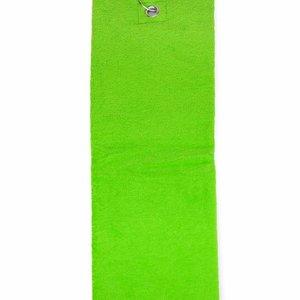 The One Towelling  Handdoek - Golf - Lime groen