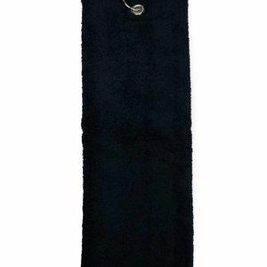 The One Towelling  Handdoek - Golf - Zwart