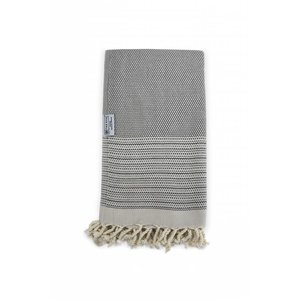 The One Towelling  Hamamdoek - Exclusief - Taupe