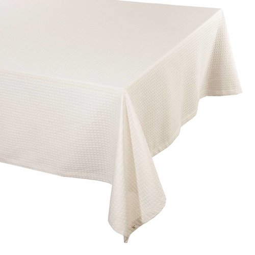 Walra Tafellaken - Cotton Cubes - Kiezel grijs