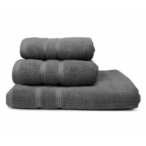 The One Towelling  Handdoek - Ultra Deluxe - 50x100 cm - Antraciet
