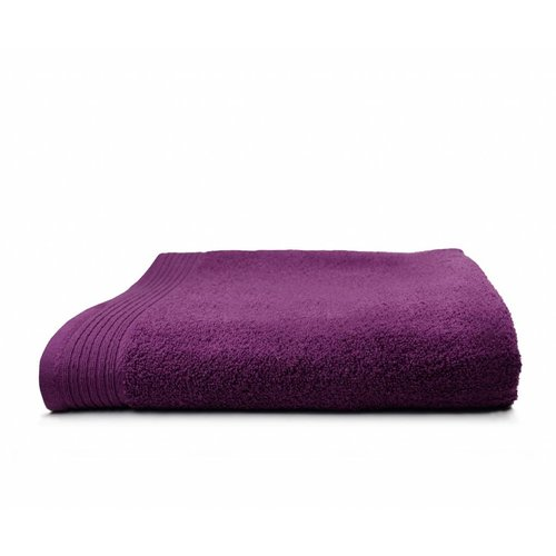 The One Towelling  Handdoek - Deluxe - 60x110 cm - Aubergine