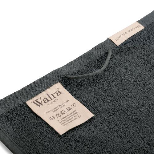 Walra Gastendoekje - 30x50 cm - Antraciet - 2 st.