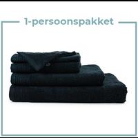 1 Persoons -  Handdoekenpakket  - Zwart