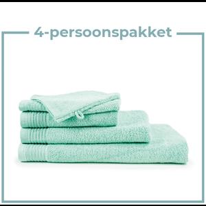 The One Towelling  4 Persoons - Handdoekenpakket - Mint