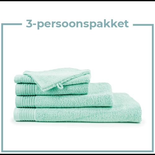 The One Towelling  3 Persoons - Handdoekenpakket - Mint