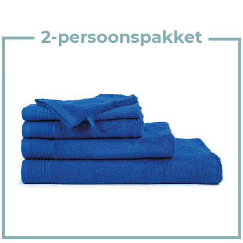 The One Towelling  2 Persoons -  Handdoekenpakket - Kobalt blauw