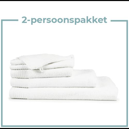 The One Towelling  2 Persoons -  Handdoekenpakket - Wit