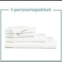 1 Persoons -  Handdoekenpakket - Wit