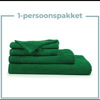 1 Persoons -  Handdoekenpakket - Groen