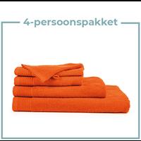 4 Persoons - Handdoekenpakket - Oranje
