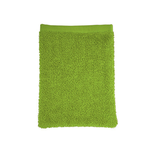 The One Towelling  Washandje - Lime Groen - 16x21 cm