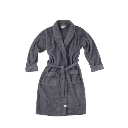 Walra Badjas - Home Robe - Antraciet