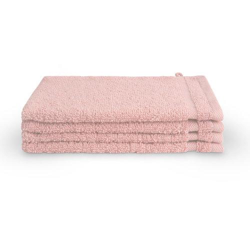 Byrklund Washandje - 16x21 cm - 4 stuks - Roze