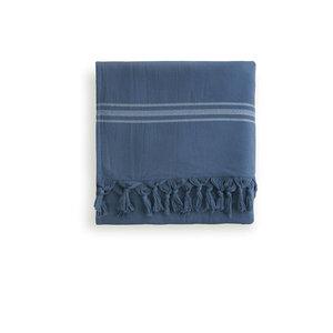Byrklund Hamamdoek - 90x170 cm - Blauw