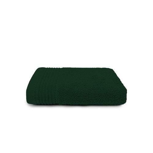 The One Towelling  Handdoek - Deluxe - 50x100 cm - Donker groen