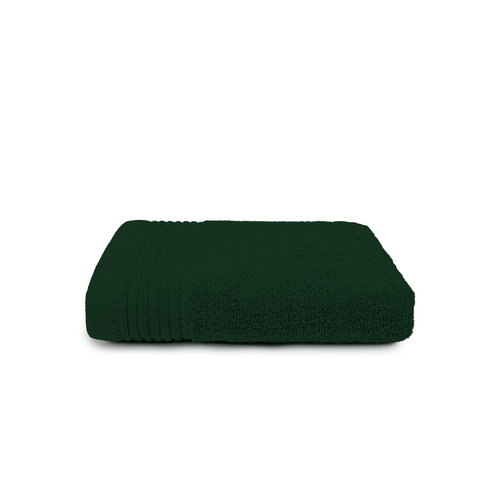 The One Towelling  Handdoek - Donker groen - 50x100 cm