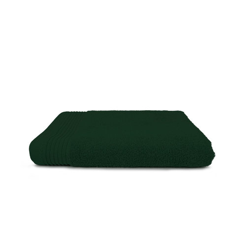 The One Towelling  Handdoek - Deluxe - 70x140 cm - Donker groen