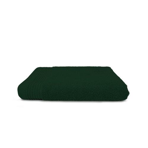 The One Towelling  Badlaken - Donker groen - 70x140 cm