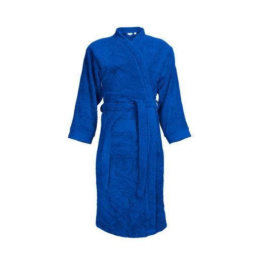 The One Towelling  Badjas - Kobalt Blauw