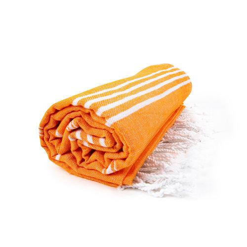 The One Towelling  Hamamdoek - Oranje - 100x180 cm