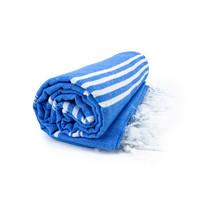 Hamamdoek - Blauw - 100x180 cm