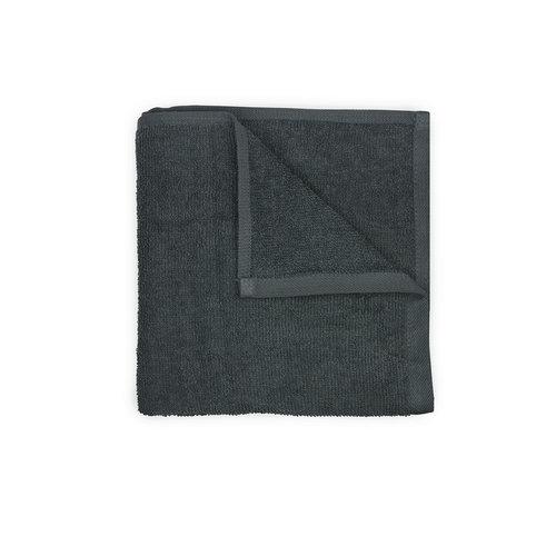 The One Towelling  Salon Handdoek - Antraciet - 45x90 cm