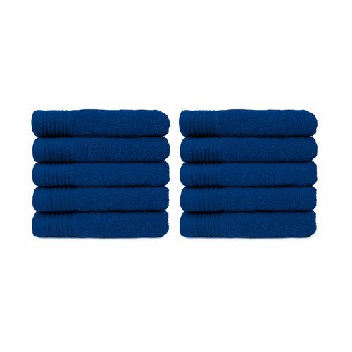 The One Towelling  Badlaken - Kobalt blauw - 70 x140 cm - Set van 10