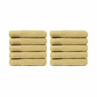 Handdoek - Stone - 50x100 cm - Set van 10