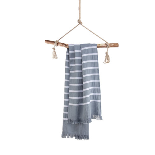 Walra Walra hamamdoek - 100x180 cm - Blauw