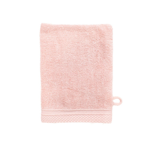 The One Towelling  Washandje - Bamboo - Zalm Roze - 16 x 21