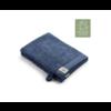 2 Walra washandjes - Remade Cotton - Blauw - 16x21cm