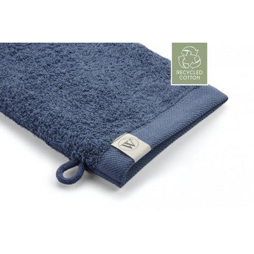 Walra 2 Walra washandjes - Remade Cotton - Blauw - 16x21cm