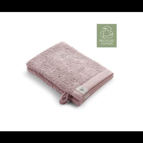 Walra 2 Walra washandjes - Remade Cotton - Poeder Roze - 16x21cm