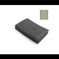 2 Walra Gastendoekjes - Remade Cotton - Antraciet - 30x50cm