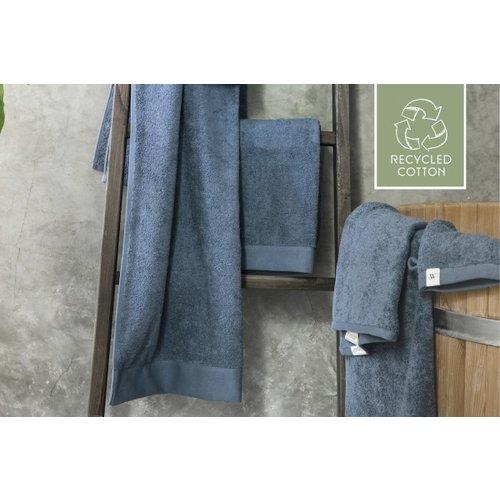 Walra 2 Walra Gastendoekjes - Remade Cotton - Blauw - 30x50cm